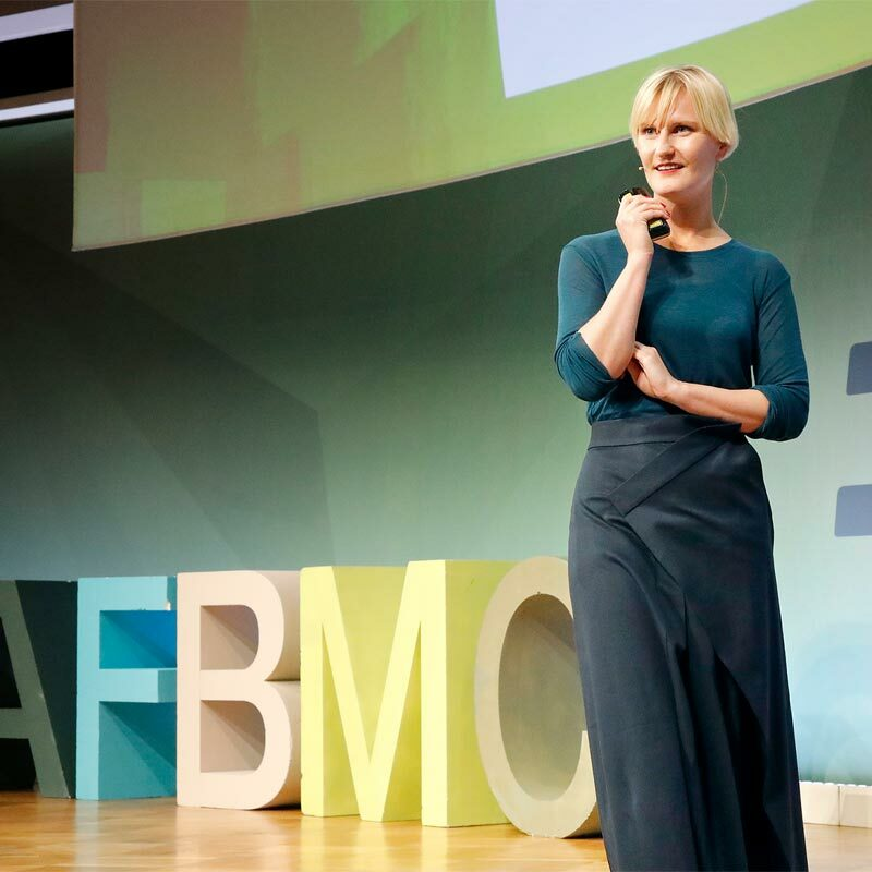 Eva Reitenbach at AFBMC